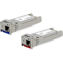 Ubiquiti UF-SM-10G-S SFP+ Single-Mode Fiber Module, 2-Pack