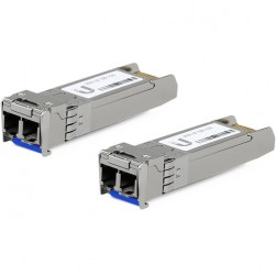 Ubiquiti UF-SM-10G SFP+ Single-Mode Fiber Module, 2-Pack