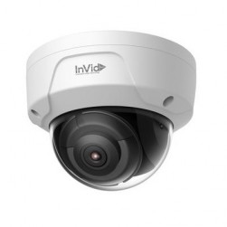 InVid Tech ULT-P8DRIRA6 8 MP IP Outdoor Rugged Dome Camera 6mm Lens