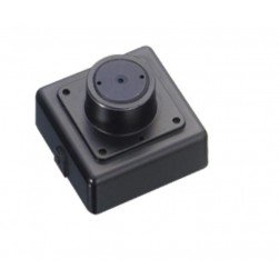 InVid ULT-ALLMIFP43 1080p HD-TVI/CVI/AHD/Analog Miniature Flat Pinhole Camera, 4.3mm