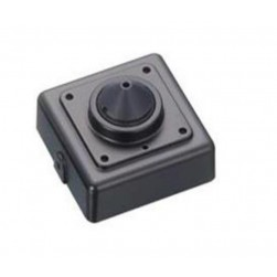 InVid ULT-ALLMIP43 1080p HD-TVI/CVI/AHD/Analog Miniature Conical Pinhole Camera, 4.3mm