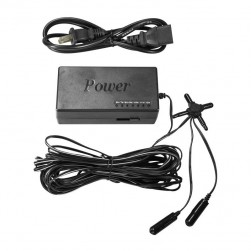 Vosker V-AT12V Universal AC Power Adapter for Security Cameras