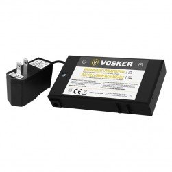 Vosker V-LIT-BC Rechargeable Lithium Battery Pack and AC Charger