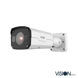 InVid VIS-P4BXIRA2812LC 4 Megapixel IP Plug & Play Outdoor Bullet Camera, 2.8-12mm