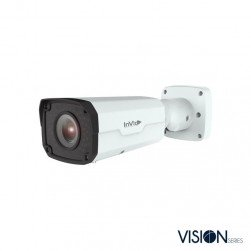 InVid VIS-P8BXIRA2812 8 Megapixel IP Plug & Play Outdoor IR Bullet Camera, 2.8-12mm Lens