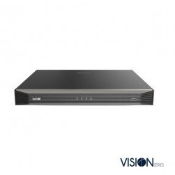 InVid VN1A-8X8LC-2TB 8 Channel NVR with 8 Plug & Play Ports, 64 Mbps, 2 HD Bays with Cloud Upgrade, 2TB
