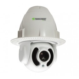 Vitek VT-TPTZ10HRF-2A4 1080p Indoor/Outdoor Flush Mount IR PTZ Camera with Included Power Supply