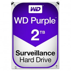 Western Digital WD20PURZ HD WD 2TB Purple Surveillance Hard Drive SATA