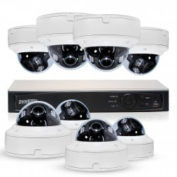 Cantek Plus WW8D2TB Professional HD-TVI Dome System
