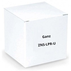 Ganz ZNS-LPR-U Unlimited Channels License Plate Recognition