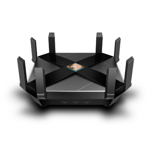 TP-Link - Archer AX6000 Dual-Band Wi-Fi 6 Router - Black-NEW