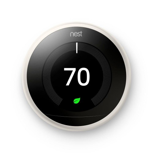 Google Nest T3017US Learning Thermostat 3rd Generation, White