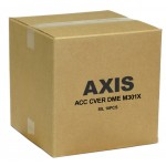 Axis 5502-191 Silver cover w/clear bubble for AXIS M30 Series. 10 pack