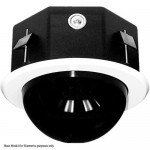 Pelco DF8A-0 8-inch Fixed In-celing Housing with Smoked WIndow