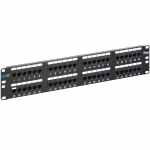 ICC ICMPP0485E 48-Port Cat 5e Data Patch Panel, 2 RMS