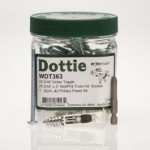 """LH Dottie WDT363 Driller Toggle 3/16"""" Kit with Slotted/Phillips Screws"""