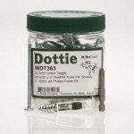 "LH Dottie WDT363 Driller Toggle 3/16"" Kit with Slotted/Phillips Screws"