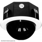 Pelco DF8A 8-inch Fixed In-celing Housing with Smoked Dome