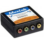 MuxLab 500057 Component / Composite Video Balun, Female