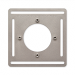 Google Nest T4007EF Thermostat E Steel Plate, 4 Pack