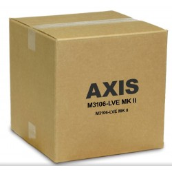 Axis 01037-001 M3106-LVE Discreet Outdoor 4 MP IR Dome Camera 2.4mm
