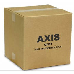 Axis Q7401 1-Port Video Encoder w/Two-Way Audio, 10-Pack