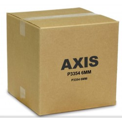 Axis 0465-001 P3354 Day/Night Network Dome Camera, 2.5-6mm Lens