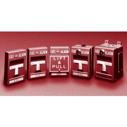 Interlogix 103-22S Dual Action (SPST) Manual Fire Alarm Station