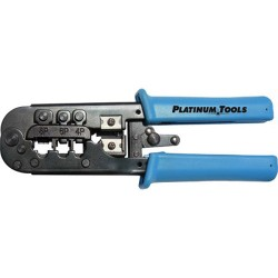 Platinum Tools 12503C All-in-One Modular Plug Crimp Tool