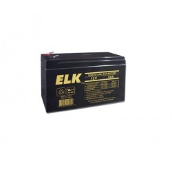 ELK 1280 Sealed Lead Acid Battery 12V 8.0Ah