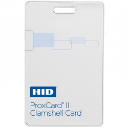 Interlogix 1326-W ProxCard II, White Matte Front/Molded Logo Back, 26 Bit Format, Facility Code & Card Number Assigned