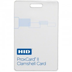 Interlogix 1326LMSMV ProxCard II White Matte Front/Molded Logo Back, 26 Bit format, Specify Facility Code & Card Number