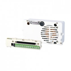 Comelit 1622VC Speaker unit and module for remote camera. Simplebus color cabling