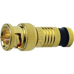 Platinum Tools 18255 BNC-Connector RGB Type 25 AWG Gold