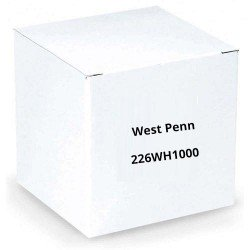 West Penn 226WH1000 1P 14G Stranded Unshielded Cables White 1000 ft