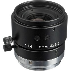 Tamron 23FM08-L 2/3-inch 8mm Manual Iris w/Lock Machine Vision Lens