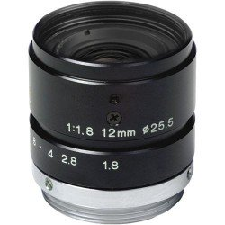 Tamron 23FM12 2/3-inch 12mm Manual Iris Machine Vision Lens
