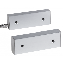 Interlogix 2507-L20 Aluminum Housing 2507 Magnetic Contact, SPDT, 20FT Jacketed Lead