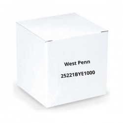West Penn 25221BYE1000 22/2 Unshielded CMP Cable 1000.Ft Yellow