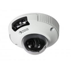 Linear 2GIG-CAM-250P Outdoor Mini-Dome HD Camera - White