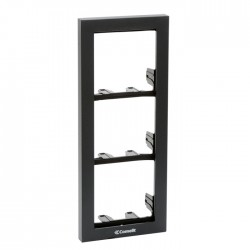 Comelit 3311/3A Module-holder frame complete with cornice for 3 module