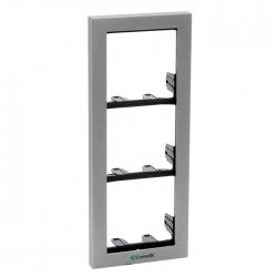 Comelit 3311/3S Module-holder frame complete with cornice for 3 module