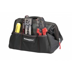 "Platinum Tools 4006 12.75"" x 8.75"" x 8"" Big Mouth Canvas Tool Bag"