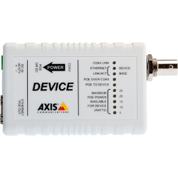 Axis T8642 PoE+ over Coax Device Unit