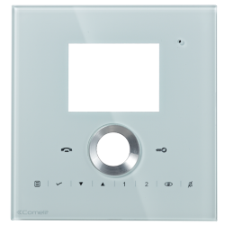 Comelit 6202L/C White Faceplate for Planux Lux - ViP System