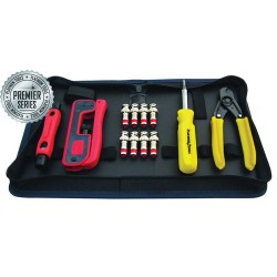Platinum Tools 90202 Premier Series RG59 CCTV Connectivity Kit