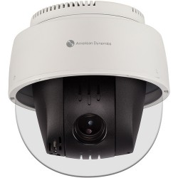 American Dynamics ADCIPTZINDWCLR PTZ Indoor Clear Bubble Camera White