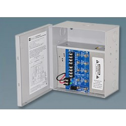 Altronix ALTV615DC44ULM 4 Output Power Supply, 6-15VDC @ 4 Amp, Fused Class 2 Rated Power Limited, UL Listed, Mini Cabinet