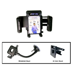 COP-USA B0WS Windshield Mount Holder (Air Vent Mount Included)