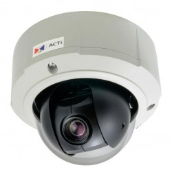 ACTi B97A 3Mp 10x Outdoor Network Mini Vandal PTZ Camera